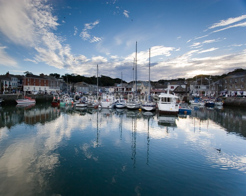 Padstow harbour at dusk, Cornwall - Featured Images