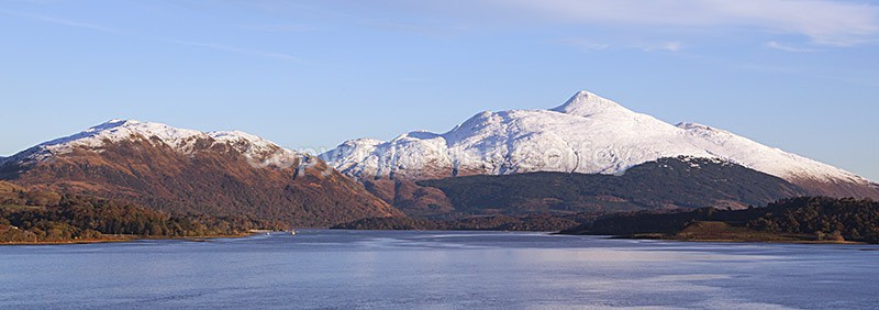 Ben Cruachan across Loch Etive, Argyll & Bute - Panoramic format