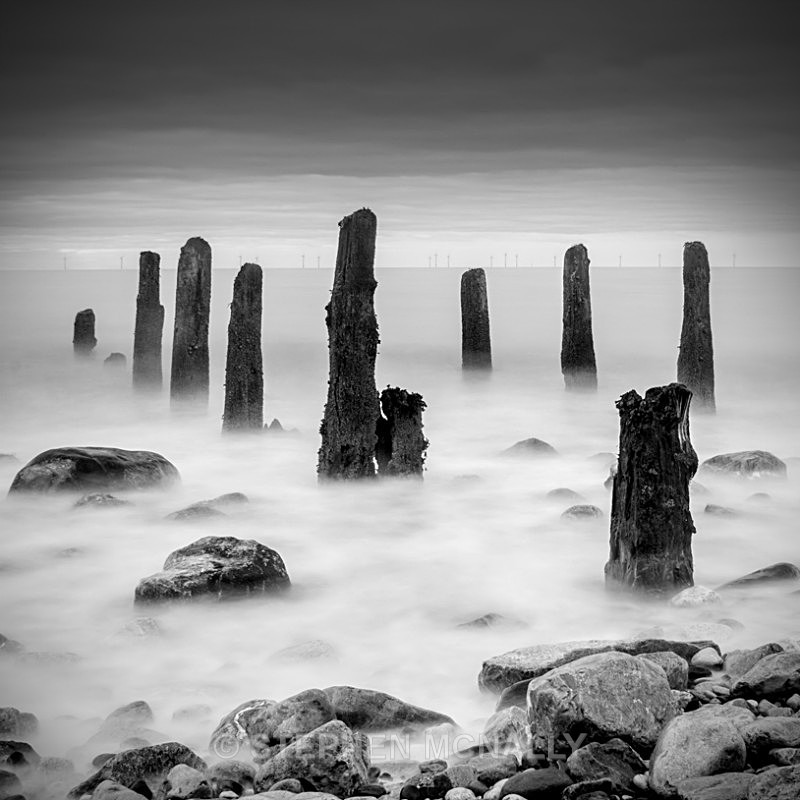 Llandulas Groyne - Seascapes