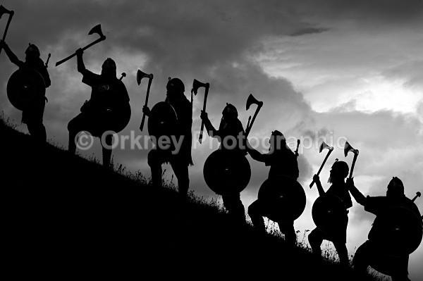 Vikings on Maes Howe - Orkney Images