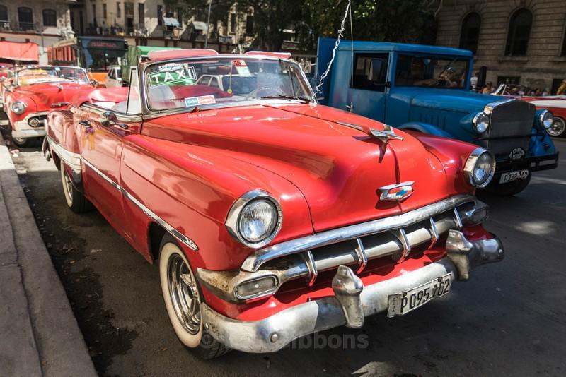 red car havana - Cuba