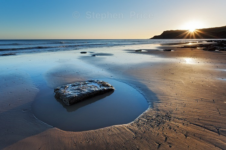 Dawn Rock Pool Photo | Robins Hood Bay North Yorkshire