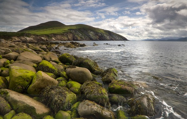 Boulders On The Shoreline At Minard, Co. Kerry, Ireland.