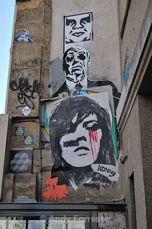 Parisien Graffiti - Paris