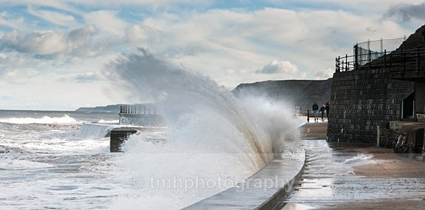 Sweeping Wave - Yorkshire Coast