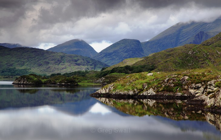 The Perfect Calm - Landscapes of Ireland - Kerry Lakes and Mountains