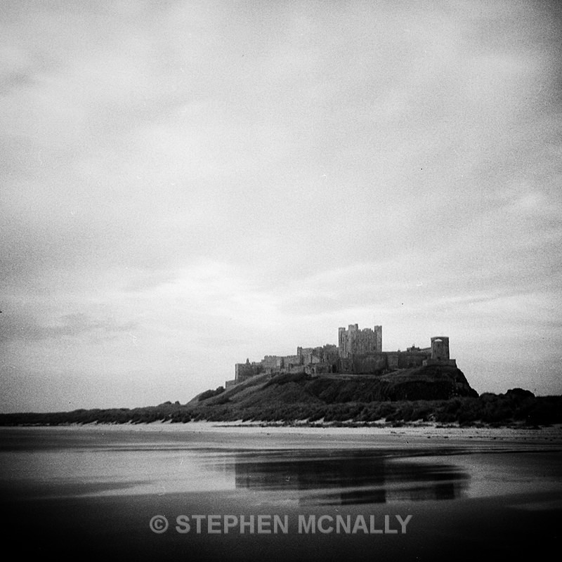 Bamburgh Castle Northumberland - Images made on Film