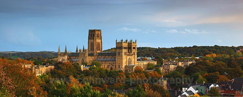 autumn Durham cathedral - County Durham