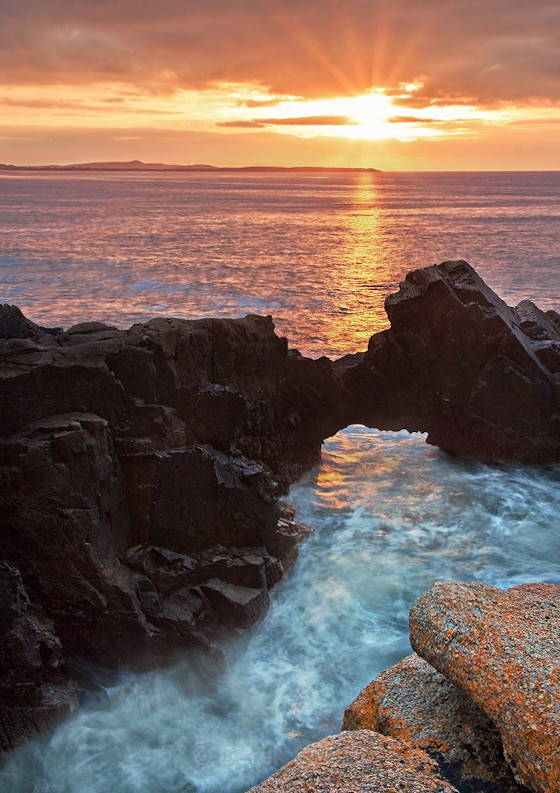 Sunset At Bloody Foreland - Wild Atlantic Way