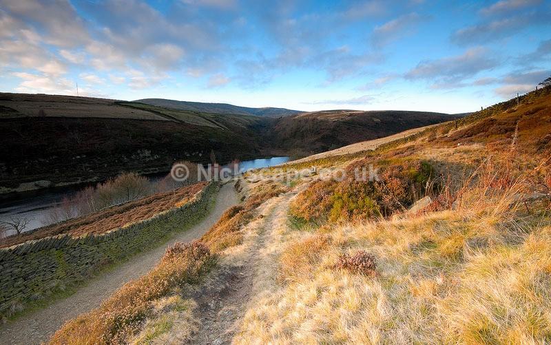 Digley Reservoir and Bilberry Reservoir   Yorkshire Landscape Photography