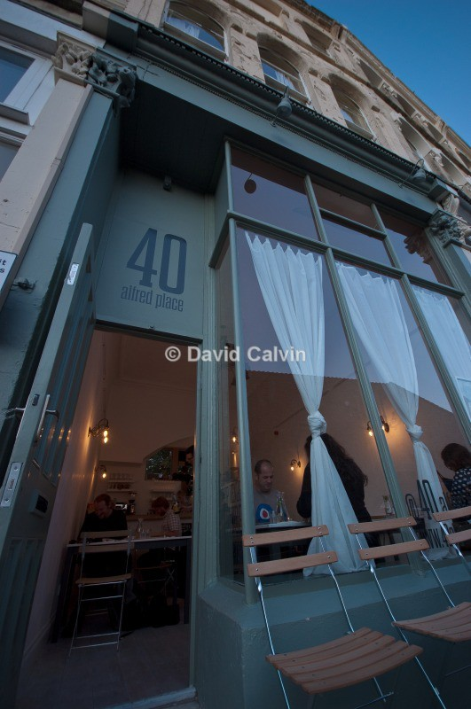 40 Alfred Place Frontage - Dinewithi