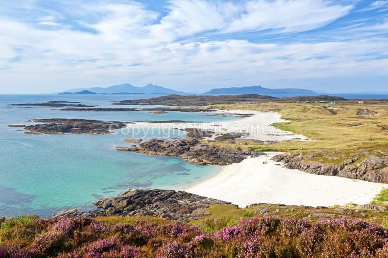 Sanna Bay & The Small Isles, Ardnamurchan, Highland - Landscape format