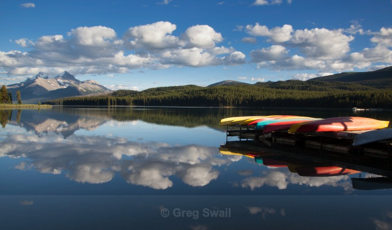 Maligne Colours - BC and the Rockies,Canada