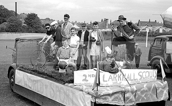 Larkhall Scouts Gala Day 1958 - Archive.