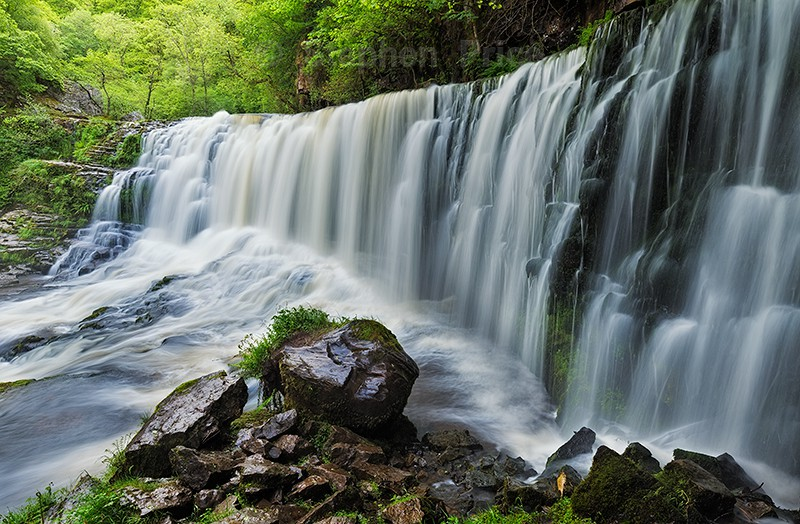 Sgwd Clun Gwyn | Brecon Beacons Waterfall | Wales Photography