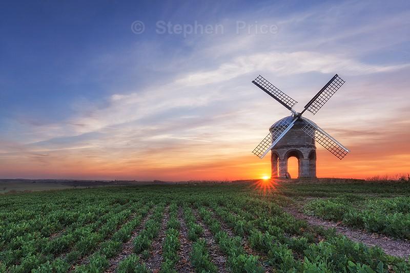 Chesterton Windmill Sunset | Warwickshire Photography