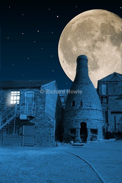 Moonlit Minkstone - The Potteries by Moonlight