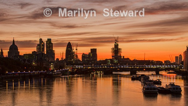 London sunrise - Exhibition acceptances