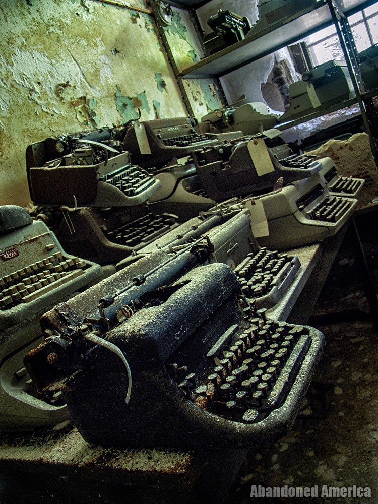 Norwich State Hospital (Preston, CT) | Antique Typewriters - Norwich State Hospital