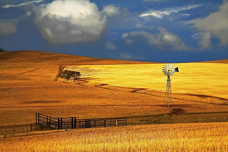 Burra Storm 1 - COUNTRY SCENES PHOTOS