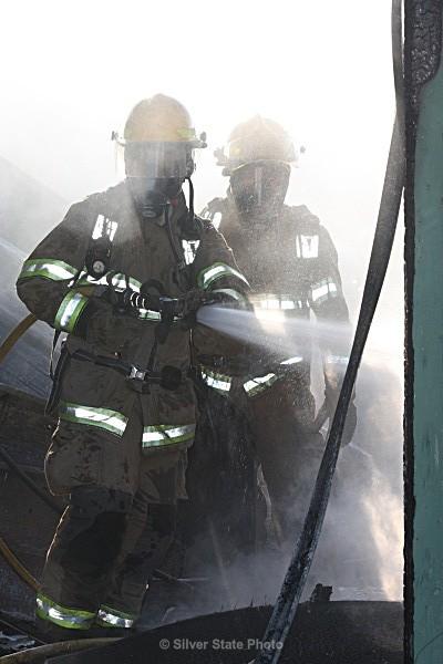 'Mop Up' - Fallon/Churchill Fire Department
