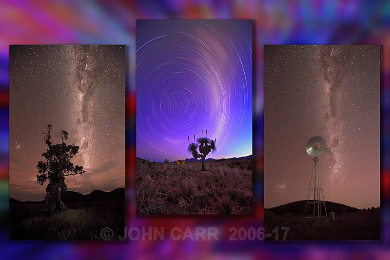 MilkyWay Triptych-1 - MONTAGES