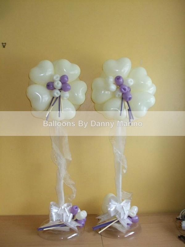 Tulip Topiary - Wedding Balloon Photos