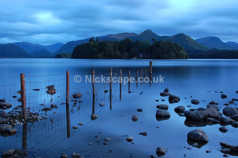 Derwent Water Dusk - Lake District National Park
