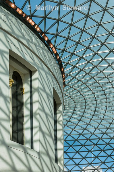 British Museum skylight - Exhibition acceptances