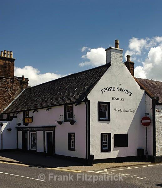 Poosie Nancy's tavern, Mauchline, Ayrshire. - Robert Burns
