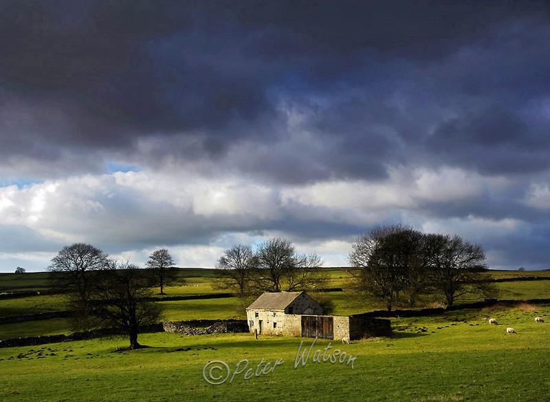 Near Flagg Peak District - England