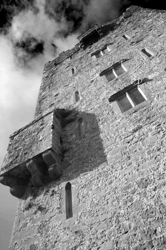 Aughnanure Castle - Ruins and Not So Ruined