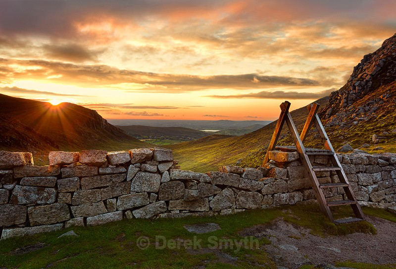 Hare's Gap Mountain Pass - Mourne Mountains- The Mournes