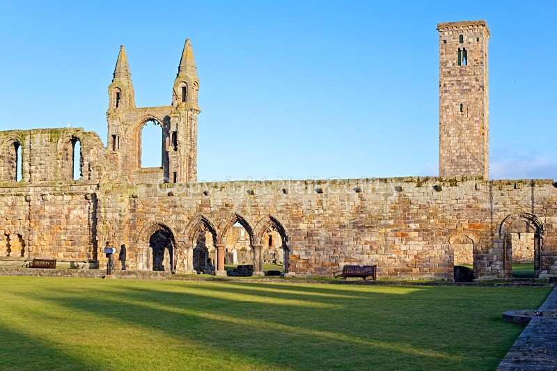 St Andrews Cathedral, St Andrews, Fife - Cities & Towns
