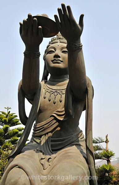 Temple, Lantau Island - Asia