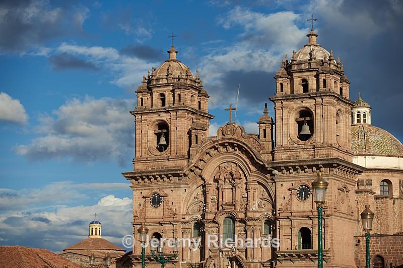 Historic Church in in Cusco - Peru