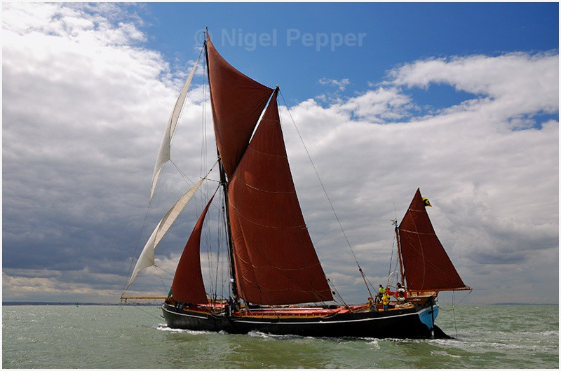 SB Adieu ( 1 ) - The Thames Barge Match