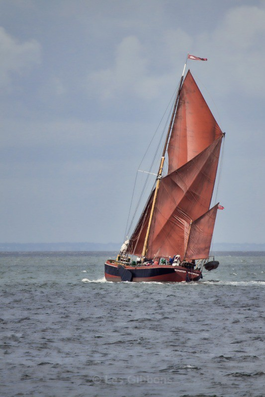 whitstable - Thames Barge - Kent