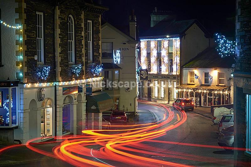 Ambleside Christmas Lights - Lake District Christmas 2016   Nickscape