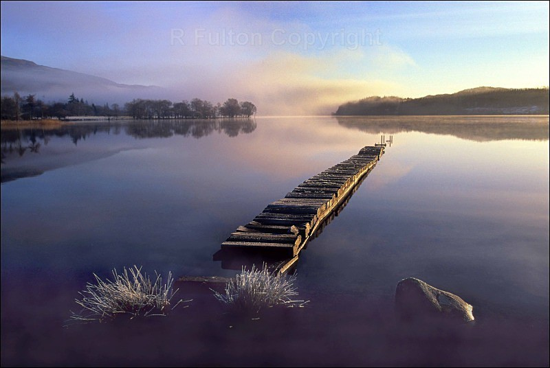 Frosted Jetty - Landscapes