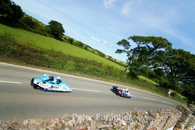 John Holden and Andy Winkle - Southern 100 Road Races