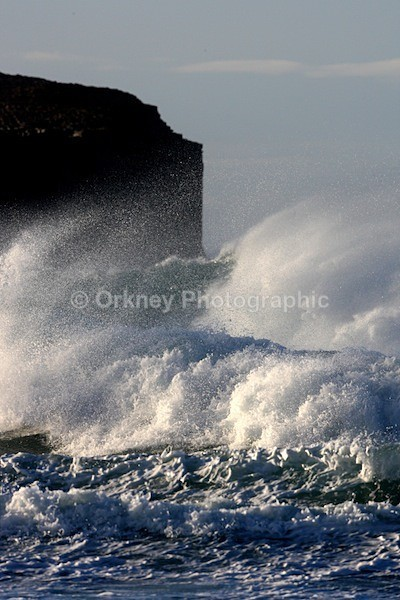 Bay of Skaill waves - Orkney Images
