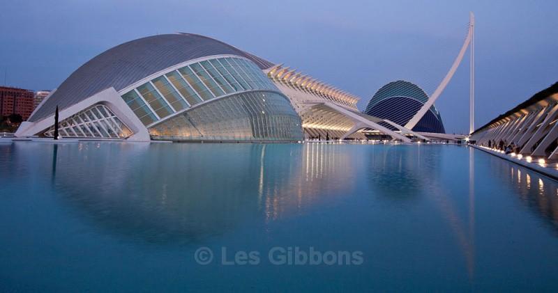 hemisferic sciences and agorga night - Valencia