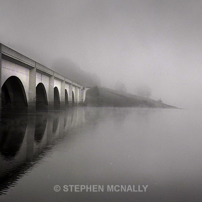 bridge in the fog - Images made on Film