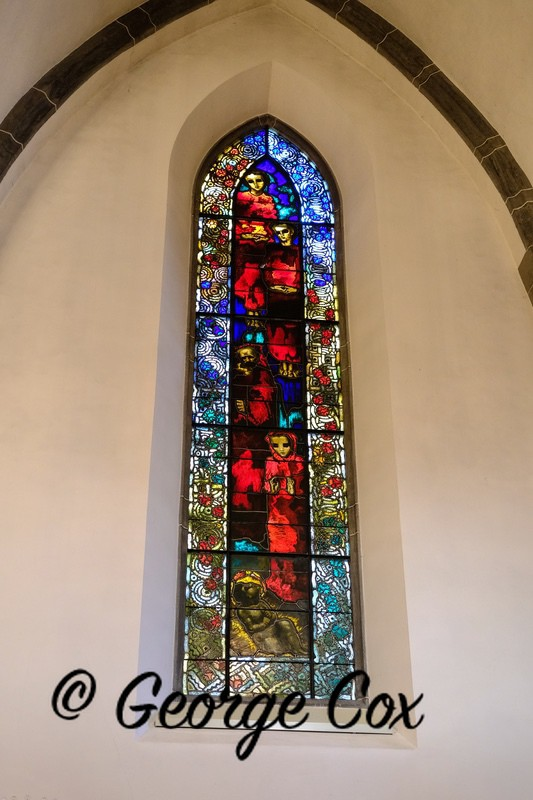 Stained Glass - Chur Cathedral - Switzerland
