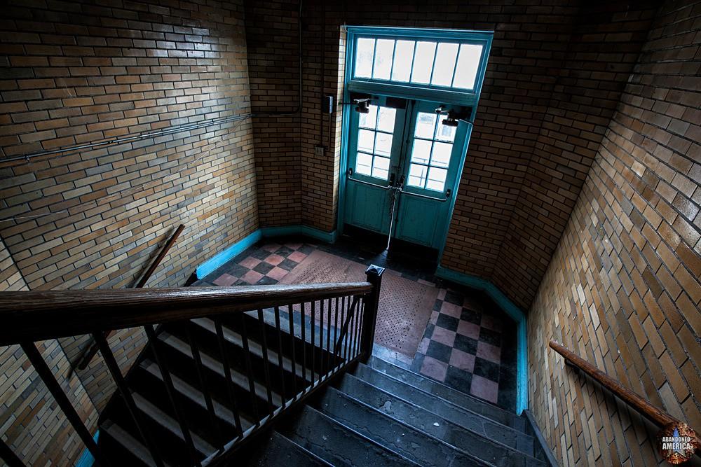 Central Junior High School (Chambersburg, PA) | Down the Stairwell - Central Junior High School