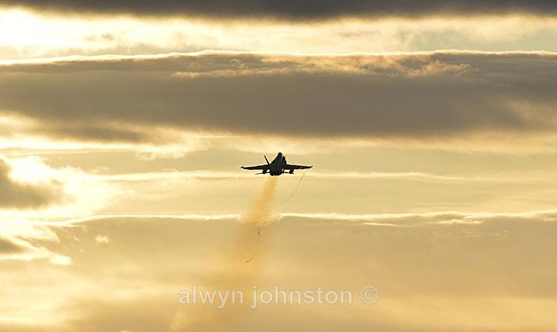 F-18 C 3 - RAF LOSSIEMOUTH VISIT NOV 2017