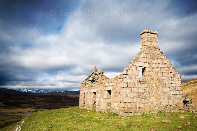 Old Manse at Tullochmacarrick - Glen Gairn