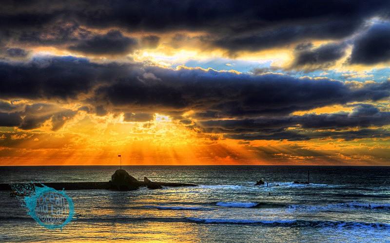 Storm Parting - Seascapes