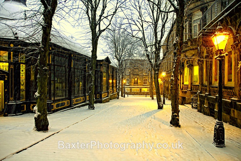 Winter Boulevard - Harrogate Town